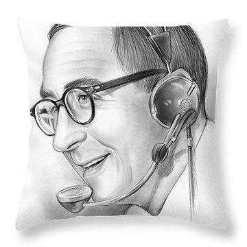 Milton Metz  Throw Pillow