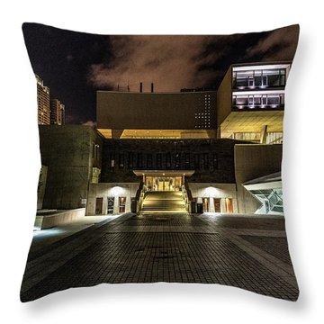 Throw Pillow featuring the photograph Milwaukee County War Memorial by Randy Scherkenbach