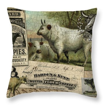 Mince Pies Throw Pillow