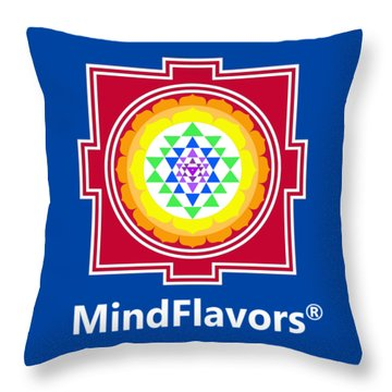 Mindflavors Small Throw Pillow