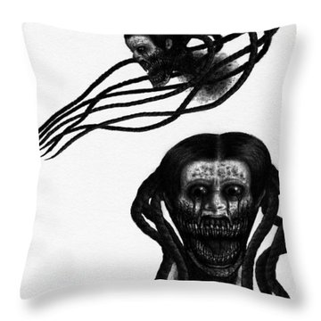 Minna - Artwork Throw Pillow