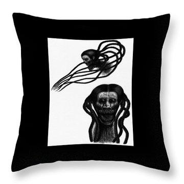 Minna - Artwork Throw Pillow