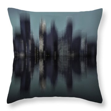 Minneapolis 1 Throw Pillow