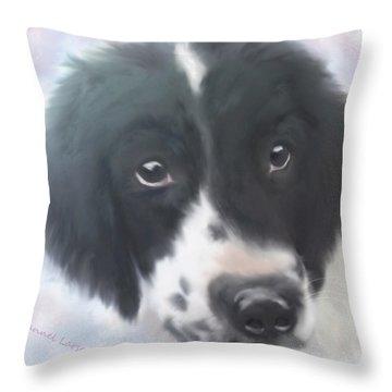 Miss Fannie Throw Pillow