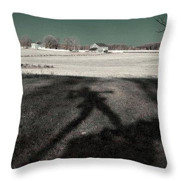 Mississippi Shadow Throw Pillow