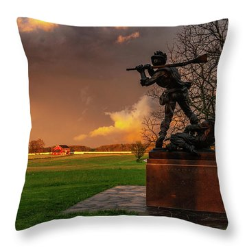 Mississippi Storm Throw Pillow