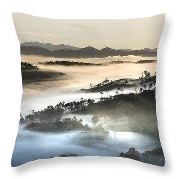 Mist Throw Pillow