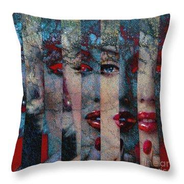 Mmarilyn 132 Q Sis Throw Pillow