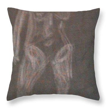 Model Named Helene Four Throw Pillow