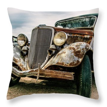 Model T Throw Pillow