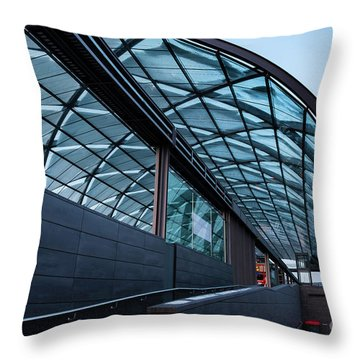 Modern Architecture Shell Throw Pillow