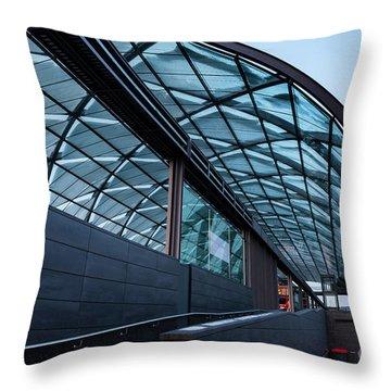 Modern Architecture Shell Throw Pillow
