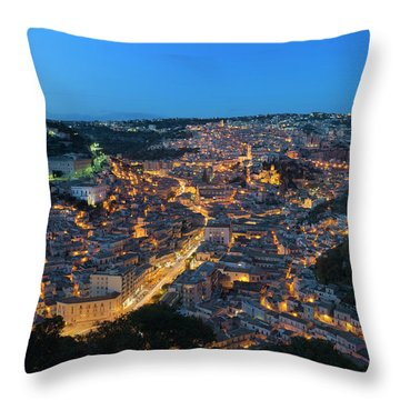 Modica, Sicily Throw Pillow