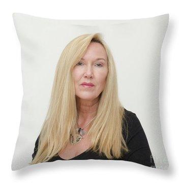 Molly Devoss Throw Pillow