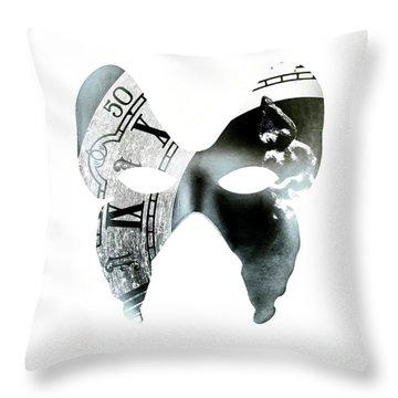 Monarchical Throw Pillow