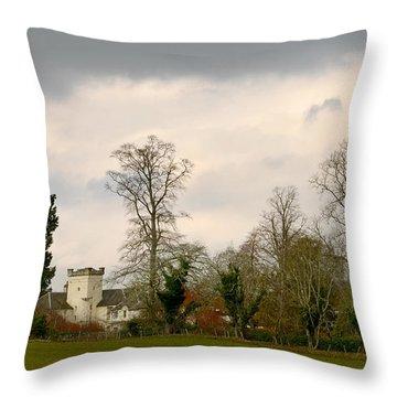 Moniack Castle Throw Pillow