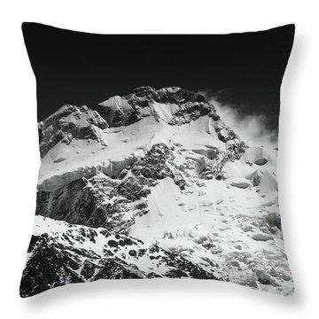 Monochrome Mount Sefton Throw Pillow