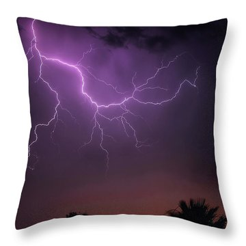 Monsoon Sunset 2019 Throw Pillow
