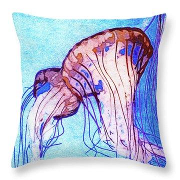 Monterey Bay Aquarium Mixed Media Throw Pillows