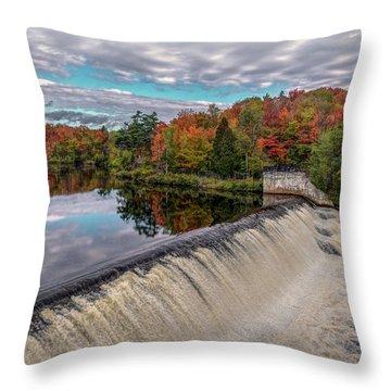 Montmorency Falls Throw Pillow