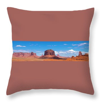 Monument Lookout Throw Pillow