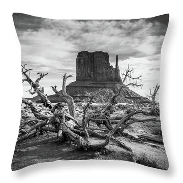 Monument Valley I Throw Pillow