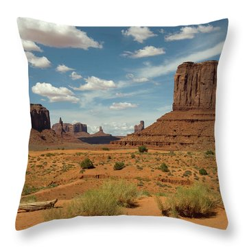 Monument Throw Pillows For Sale