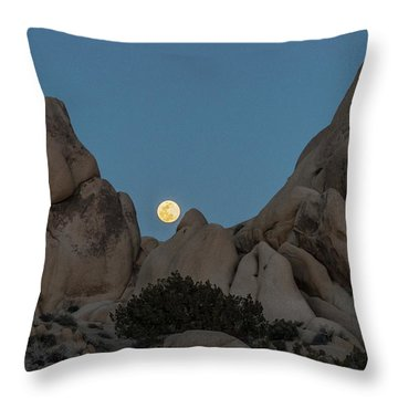 Moonrise In The Sight Throw Pillow