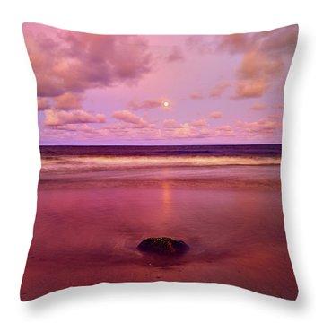 Moonrise, Mayaro Throw Pillow