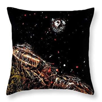 Moonstruck2 Throw Pillow