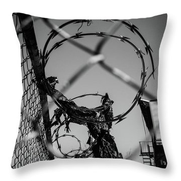 More Barriers Throw Pillow