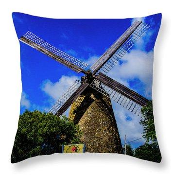 Morgan Lewis Mill Throw Pillow