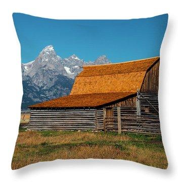 Mormons Barn 3779 Throw Pillow