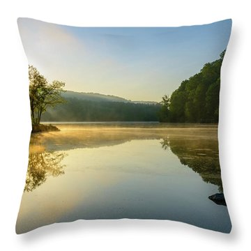 Morning Dreams Throw Pillow
