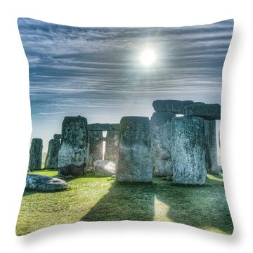 Morning Hedge Throw Pillow
