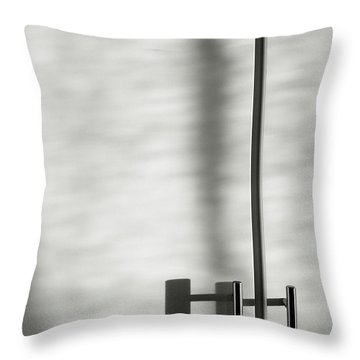 Throw Pillow featuring the photograph Morning Light by Nicole Young