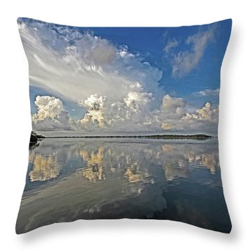 Morning Thunder Throw Pillow