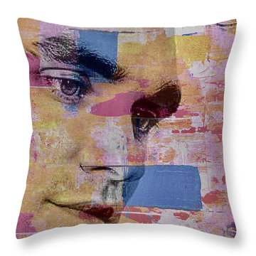 Morrissey Around Town Throw Pillow