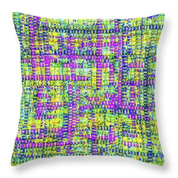 Mosaic Tapestry 2 Throw Pillow