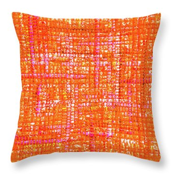 Mosaic Tapestry 3 Throw Pillow