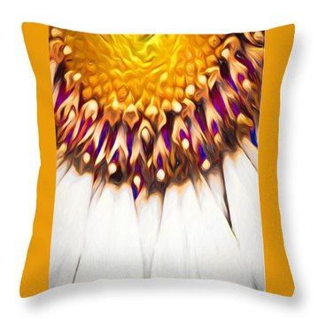 Mother Earth  Throw Pillow