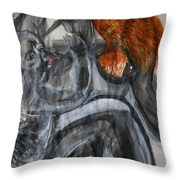 Mother Earth Feeds The World Throw Pillow