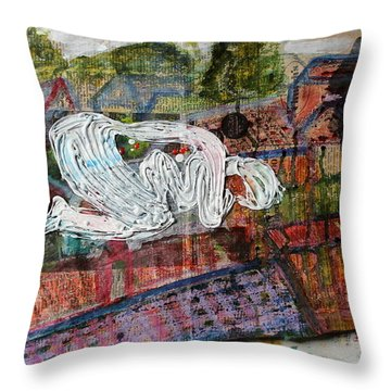 Mother Money Hibernates To The Detriment Of Us All Throw Pillow