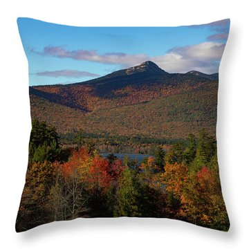 Throw Pillow featuring the photograph Mount Chocorua New Hampshire by Jeff Folger