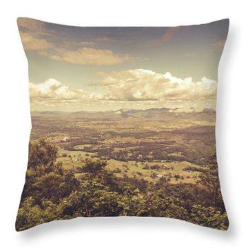 Mount Mee Throw Pillow