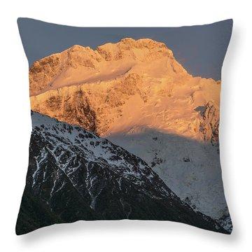 Mount Sefton Sunrise Throw Pillow