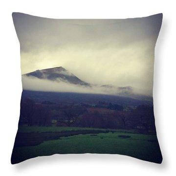 Mountain Cloud Throw Pillow