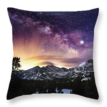 Mountain Dreams Throw Pillow