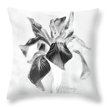 Mountain Lily Throw Pillow