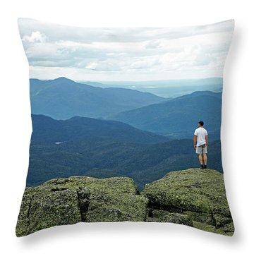 Mountain Top Throw Pillow